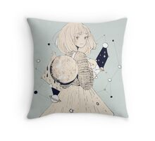 connecting the dots Throw Pillow
