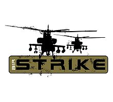AH-64 Apache Helicopters Air Strike by rott515