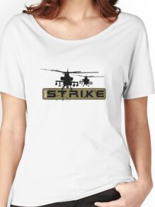 AH-64 Apache Helicopters Air Strike Women's Relaxed Fit T-Shirt