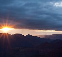 Sunrise On The South Rim  by Melissa Seaback