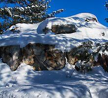 Rocks and Sky by Josef Pittner
