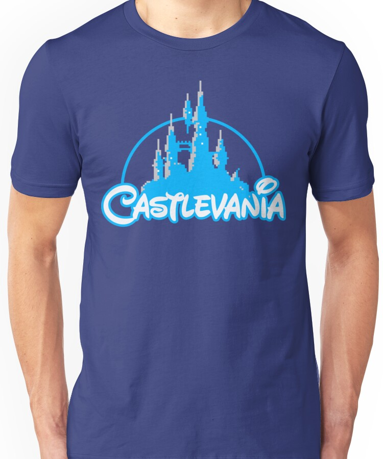 Castlevania Retro Video Game Unisex T-Shirt
