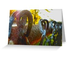 Chain Link Greeting Card