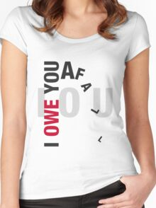 I owe you a fall Women's Fitted Scoop T-Shirt