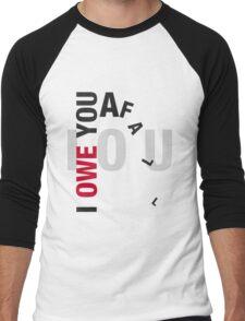 I owe you a fall Men's Baseball ¾ T-Shirt