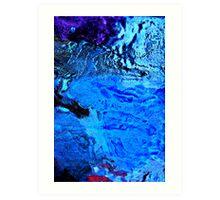 Ice Abstract III Art Print