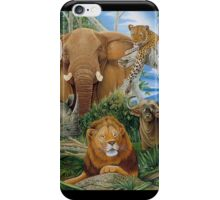 Big Five iPhone Case/Skin