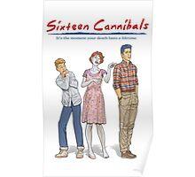 Sixteen Cannibals Poster