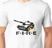 Army Tank Fire Power Unisex T-Shirt