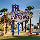 Welcome To Las Vegas Sign Series 1 of 6 by RickyBarnard