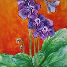 African Violet by Thea T