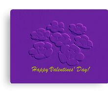 HVD in advance!  (card) Canvas Print