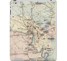 Vintage Richmond Virginia Civil War Battles (1864) iPad Case/Skin