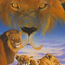 Masai Morning by Graeme  Stevenson