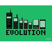 Cell Phone Evolution Photographic Print