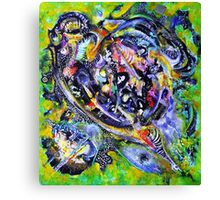 Either a Spaceship or a Giant Turtle Canvas Print