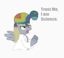 Trust Derpy - She's Science by choccywitch