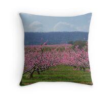 Apple Blossoms Throw Pillow