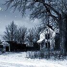 Winter's Moon by wiscbackroadz
