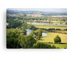 Thames Walk Canvas Print