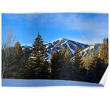 Sunrise - Baldy Mountain Poster