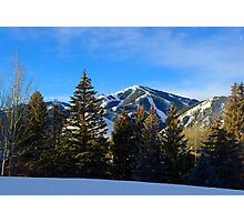 Sunrise - Baldy Mountain Photographic Print