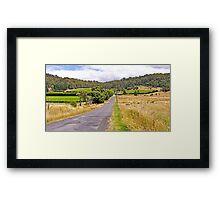 Road to Freycinet Vineyard Framed Print