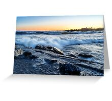 Italian sunset Greeting Card
