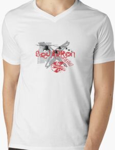 Westland Lynx Helicopter Mens V-Neck T-Shirt