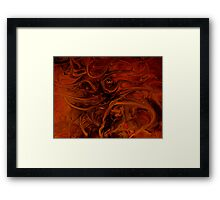 Alien Sea Floor Framed Print