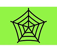 Green Web Photographic Print