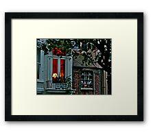 Ginger Bread House Framed Print