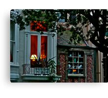 Ginger Bread House Canvas Print