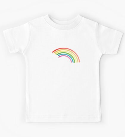 Retro 80s rainbow Kids Tee