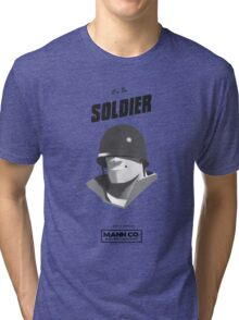 I'M THE SOLDIER - Team Fortress 2 Tri-blend T-Shirt