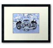 Morgan Supersport 1946 Framed Print