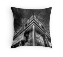 Cloud Central Headquarters Throw Pillow