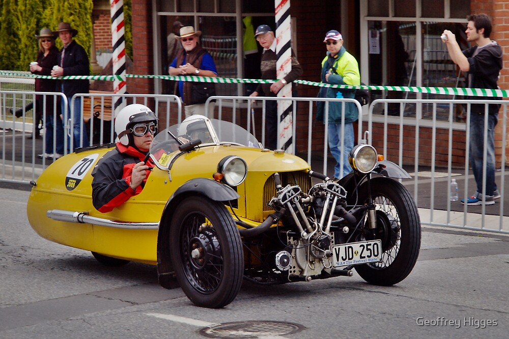 Morgan Supersport 1946 by Geoffrey Higges