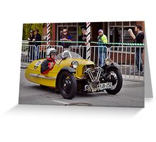 Morgan Supersport 1946 Greeting Card