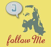 """Follow Me"" Christian T-Shirt Kids Clothes"