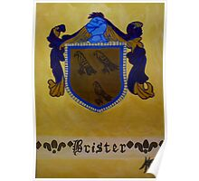 Brister - Coat of Arms Poster