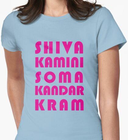 Shivakamini Somakandarkram Womens Fitted T-Shirt