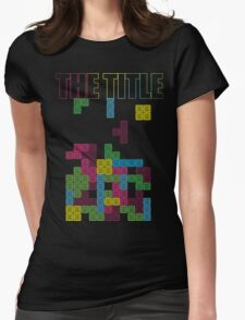 The Tetris Womens Fitted T-Shirt