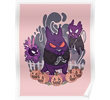 Trick or Treat (Pokemon) Poster