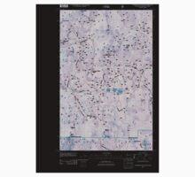 USGS Topo Map Washington State WA Churchill Mountain 20110505 TM Inverted One Piece - Short Sleeve