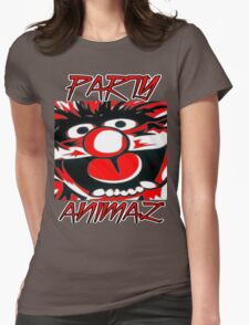 Party Animal(Muppets) Womens Fitted T-Shirt