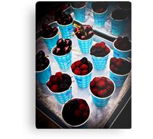 Berry, Berry Delicious! Metal Print