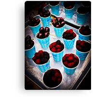 Berry, Berry Delicious! Canvas Print