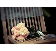 Country Wedding Photographic Print