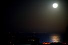 Moonlight in the Mediterranean sea. by Turi Caggegi